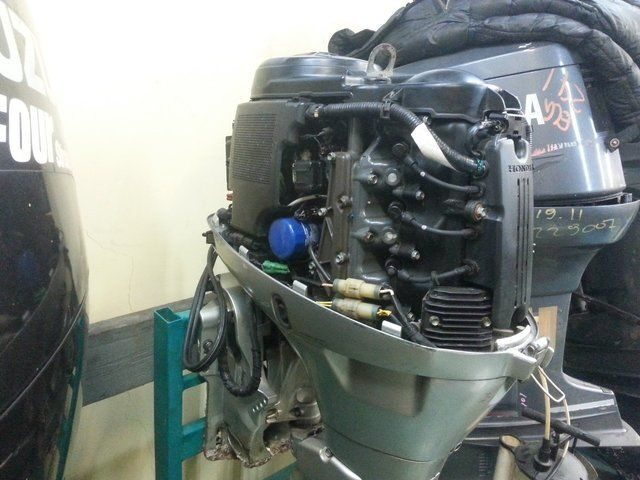 руководство по лодочному мотору хонда 50