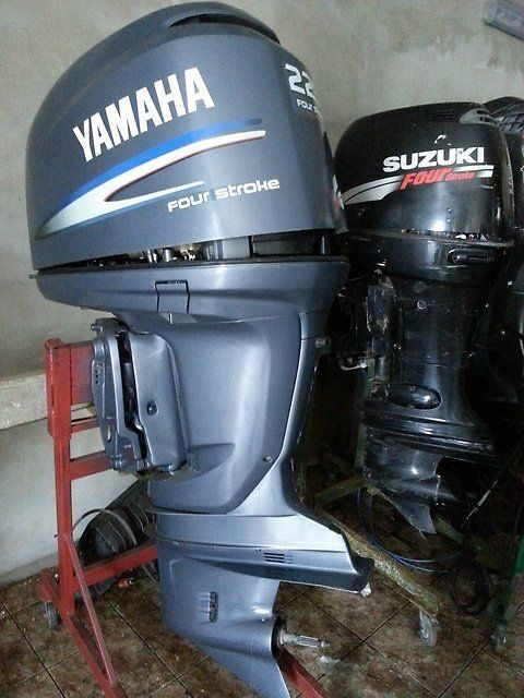 Мотор 225 лодочный ямаха инструкция